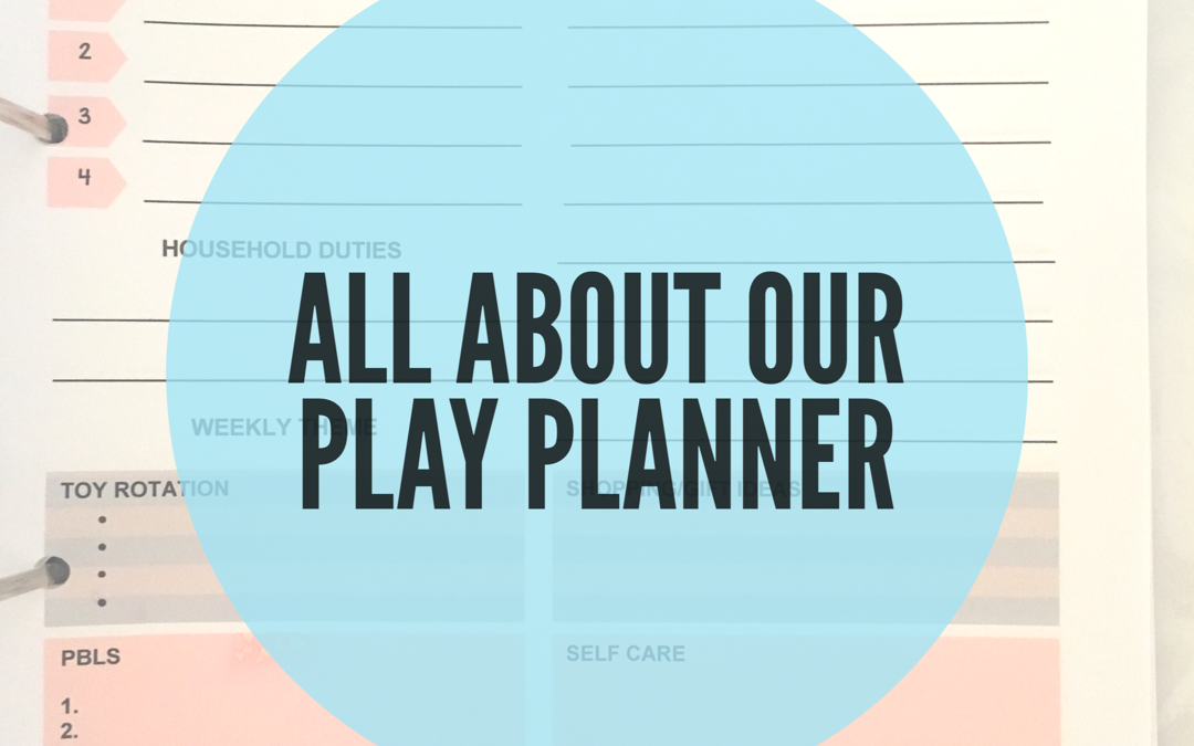PLAY PLANNER