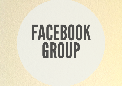 Facebook Online Support Group