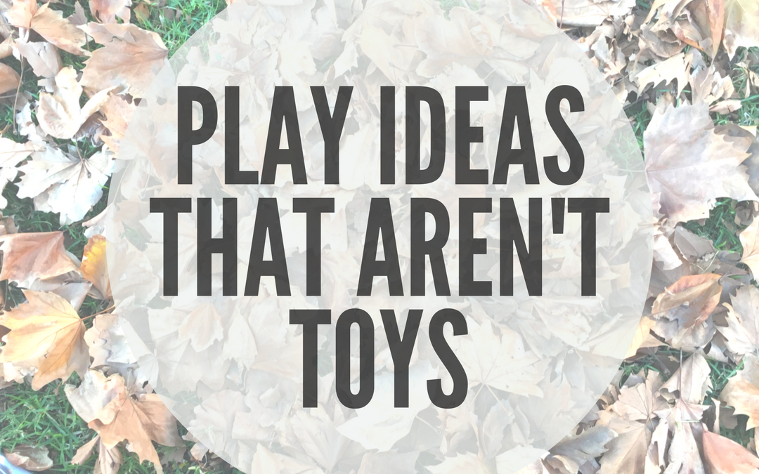 PLAY IDEAS THAT DON'T INVOLVE TOYS