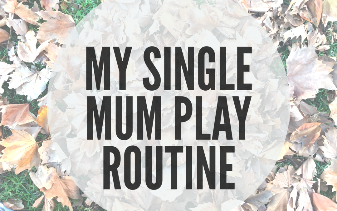 MY SINGLE MUM PLAY ROUTINE