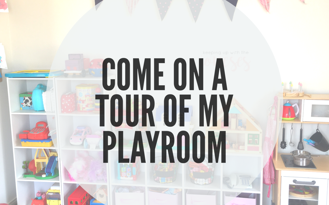 COME FOR A TOUR WITH ME IN OUR PLAY ROOM