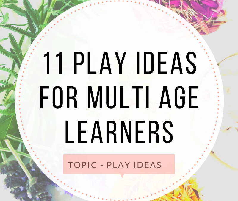 11 Play Ideas for Mums of Multi-age Learners