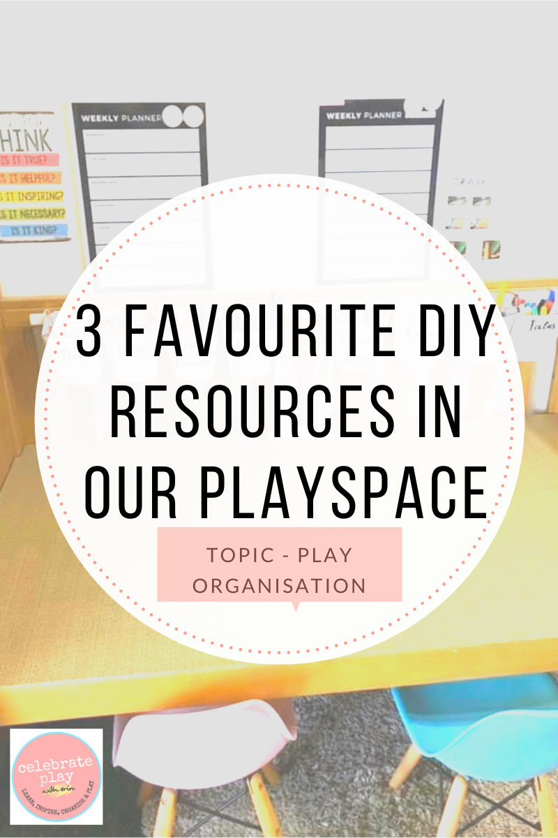 3 FAVOURITE DIY RESOURCES IN OUR PLAYSPACE