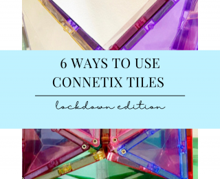 6 WAYS TO USE CONNETIX TILES – Lockdown Edition